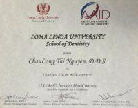 loma certificate