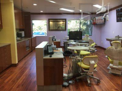 clean dental office