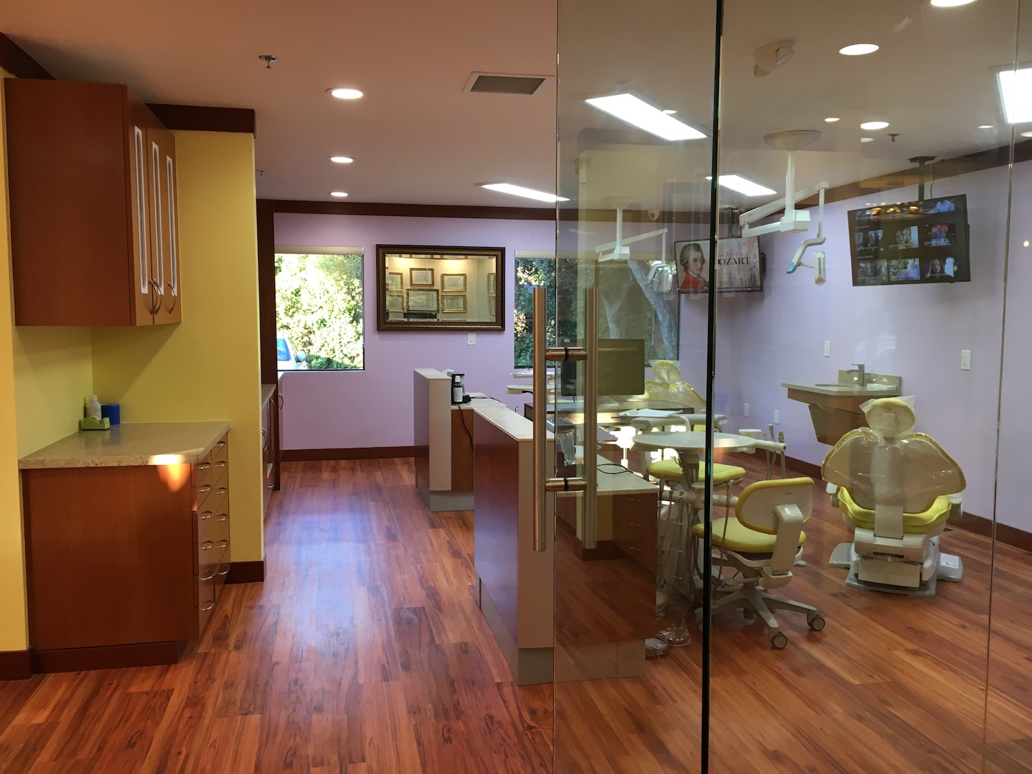 Spacious Dental Office