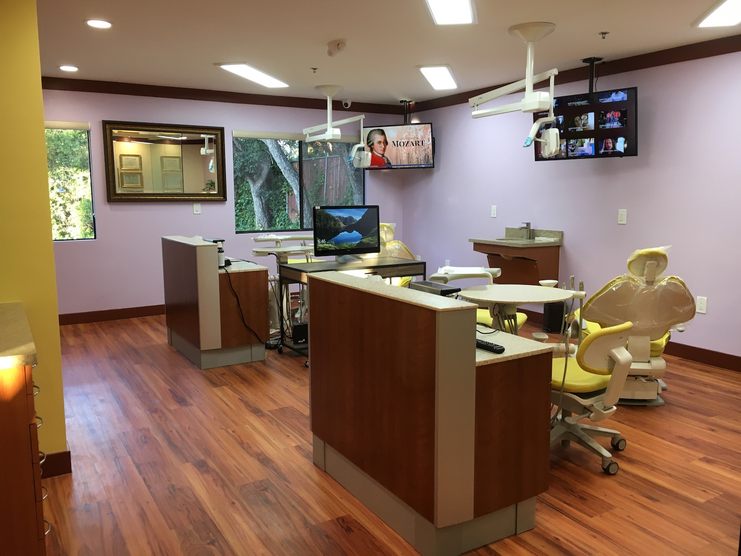 Beautiful dental office