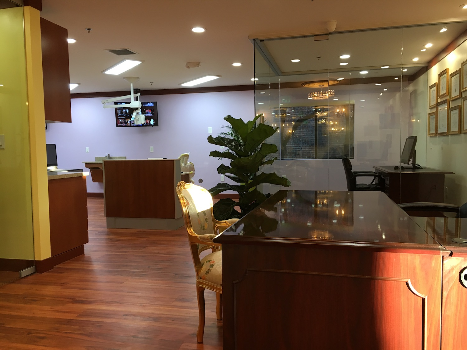 Dental Office Reception Los Altos
