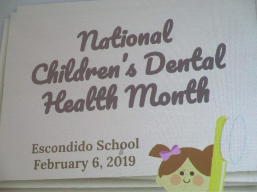 National Children's Dental Health